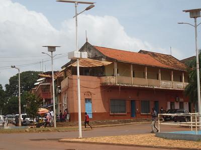 037_Guinea-Bissau  Bissau Velho (The Old Colonial Center)  UNESCO  Portuguese Ship Shape