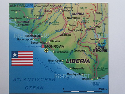 003_Liberia  A war-ravage land  16 years Civil war (from 1989 til 2005)  Cost lives of 150000+  Burned villages, Split Pregnant woman belly