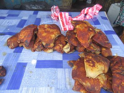 042_Monrovia  Waterside Market  UN Drive  Meat
