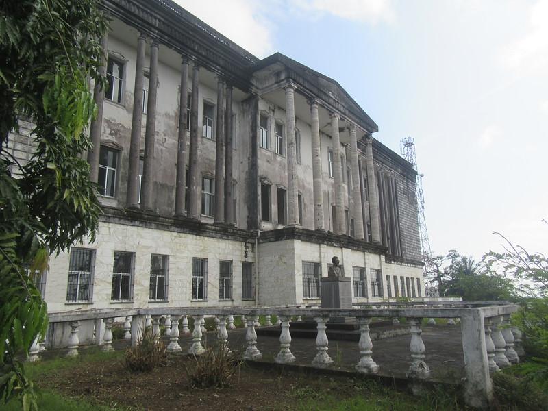 008_Monrovia  The Masonic Temple  1902  Now a ruin, was once a major landmark