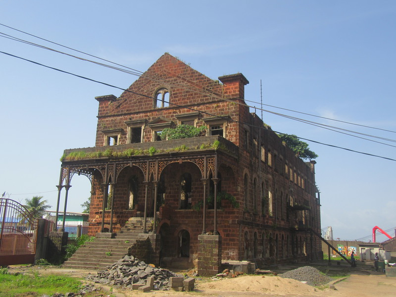 013_Freetown  Clin Town  Fourah Bay College  1827
