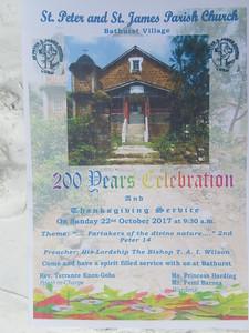 084_Bathurst Village  St  Peter ans St  James Parish Church  1817  200 years Celebration