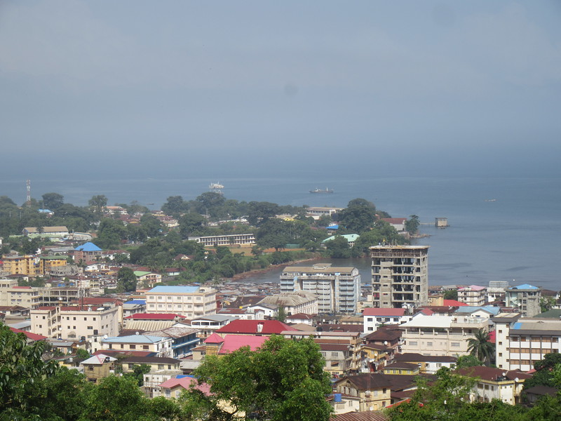 027_Freetown  Seen from Tower Hill