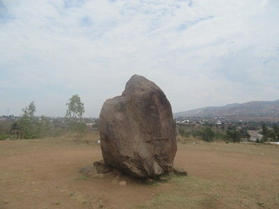 035_Bujumbura  Banlieu de Kanyosha  Monument de Stanley et Livingstone  The Rock where those fateful words ' Dr  Livingstone, I presume' were uttered