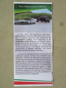 040_15km away from Bujumbura  Parc National de la Rusizi