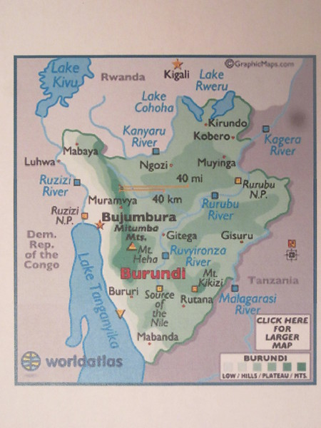 003_Burundi  Very densely populated and most areas that can be farmed are being farmed
