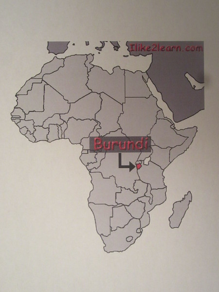 001_Burundi  A tiny landlocked country made up of mountains  80% of population lives in Rural Areas