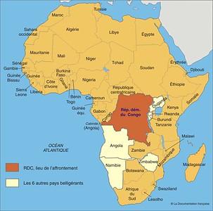 004_RDC  Africa's World War  1998-2002  2 gouvernements, Kinshasha (Est) et Goma (Ouest)