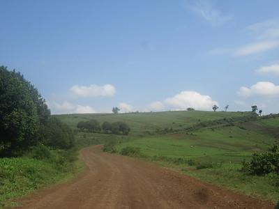 024_Route entre Bukavu et Le Parc National de Kahuzi-Biega