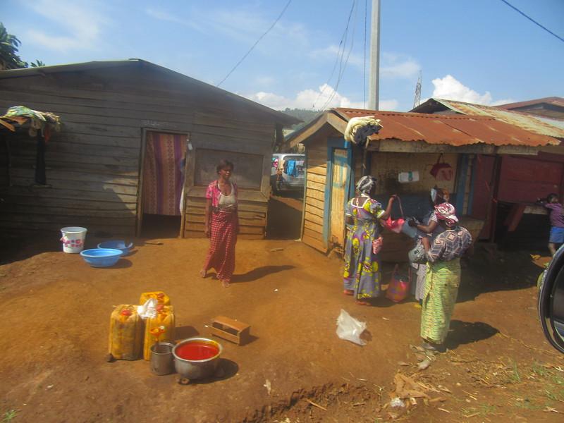 023_Route entre Bukavu et Le Parc National de Kahuzi-Biega