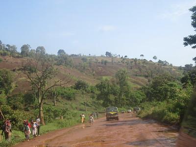 016_Route entre Bukavu et Le Parc National de Kahuzi-Biega