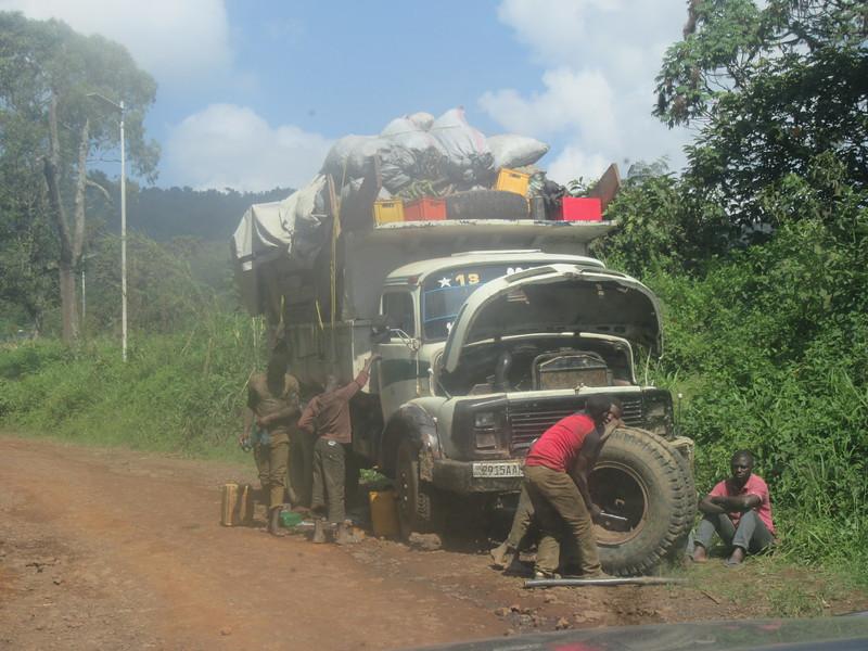 025_Route entre Bukavu et Le Parc National de Kahuzi-Biega