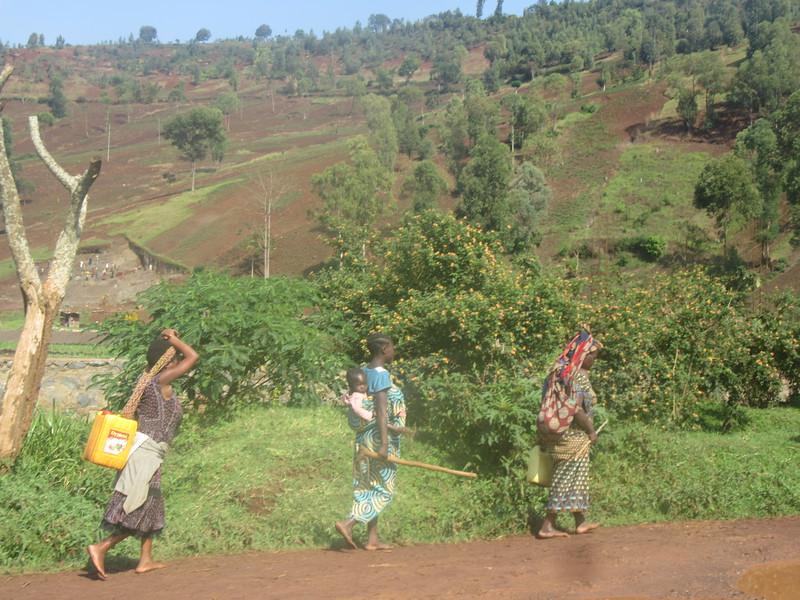 018_Route entre Bukavu et Le Parc National de Kahuzi-Biega
