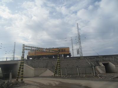 041_Djibouti Ville  Le nouveau train électrique Éthiopie-Djibouti