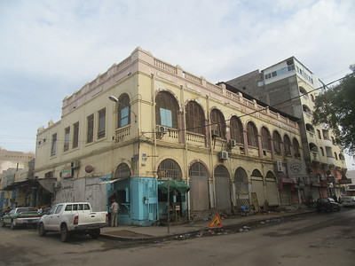 035_Djibouti Ville  Bâtiment Colonial