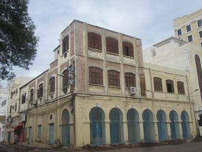 025_Djibouti Ville  Bâtiment Colonial