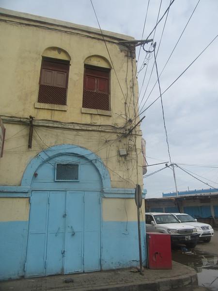 027_Djibouti Ville  Bâtiment Colonial