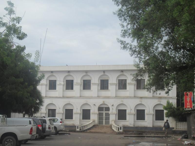 021_Djibouti Ville  Bâtiment Colonial  La Chambre de Commerce