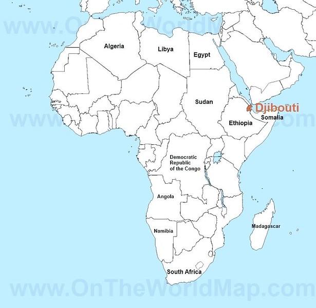 001_Djibouti  Population 900,000  35% Afars  65% urbaine  Espérance de vie 61 ans