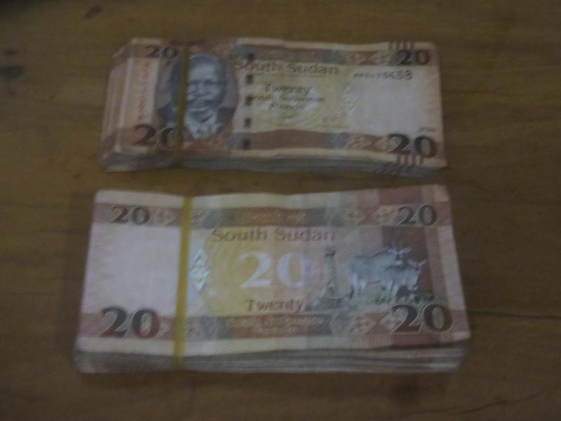 023_South Sudan  Equivalent of 20$ US