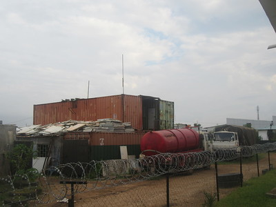 030_South Sudan  Juba  Container transformed into housing