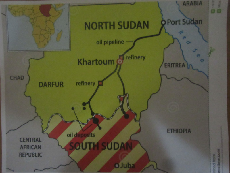 006_South Sudan  The South has the Petroleum  The North has the Refineries