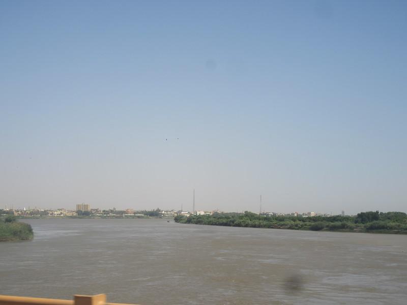 009_Khartoum  Nile Confluence (Blue Nile and White Nile)