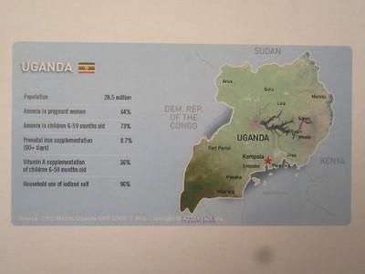 003_Uganda  Population 31 millions  Life Expectancy 55 years  80% Christians