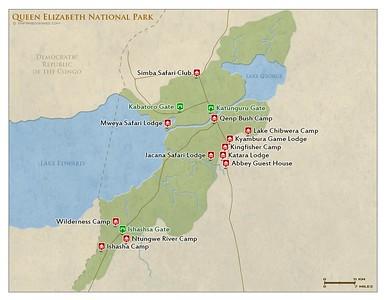 036_Queen Élisabeth National Park  Sitting on the Natural Albertine Rift Valley