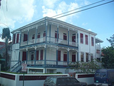 018_Belize_City_Colonial_Building