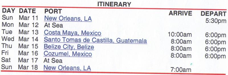 05_Itinerary