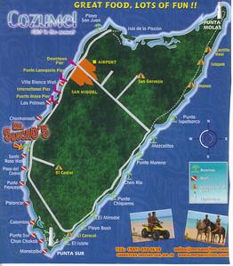 033_Cozumel_Island_Map