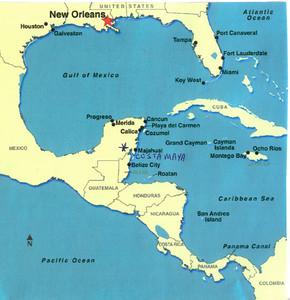 001_Caribbean_Map_Costa_Maya