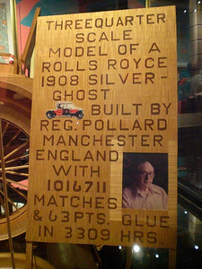 031_Orlando_Rypley's Believe It or Not_A car made from over a million Matchsticks