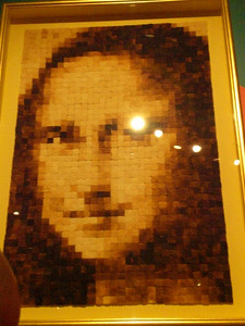 040_Orlando_Rypley's Believe It or Not_The Mona Lisa madea with Bread Crust