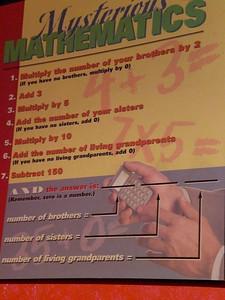 006_Orlando_Rypley's Believe It or Not_Mysterious mathematics