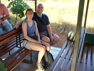 23 Iguacu Falls, Ecological Jungle Train, Luce and JD