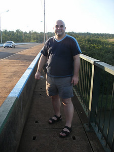 08 Ponte Presidente Tancredo Neves, Iguacu River, Border of Brasil and Argentina, JD