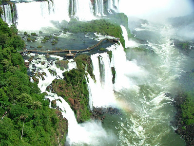 18 Iguacu Falls, CD Helicopter Tour