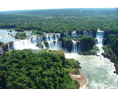 16 Iguacu Falls, CD Helicopter Tour