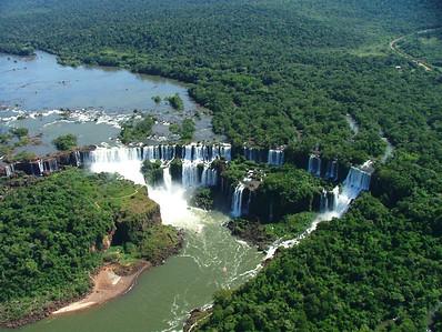 15 Iguacu Falls, CD Helicopter Tour