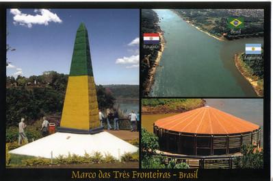 02 Iguacu Falls, Landmark of the Three Frontiers