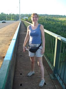 07 Ponte Presidente Tancredo Neves, Iguacu River, Border of Brasil and Argentina, Luce