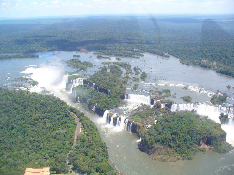 005 Iguacu Falls, 275 Falls,Wider and Higher than Victoria Falls and Niagara Falls