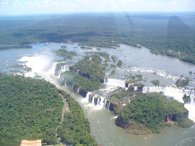 005 Iguacu Falls, 275 Falls,Wider and Higher than Victoria Falls and Niagara Falls