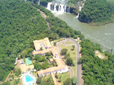 008 Iguacu Falls, Helicopter Tour, Hotel Tropical das Cataracas