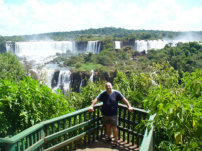 021 Iguacu Falls, Cataracas Trail, 1,2 km along the Iguacu River, JD