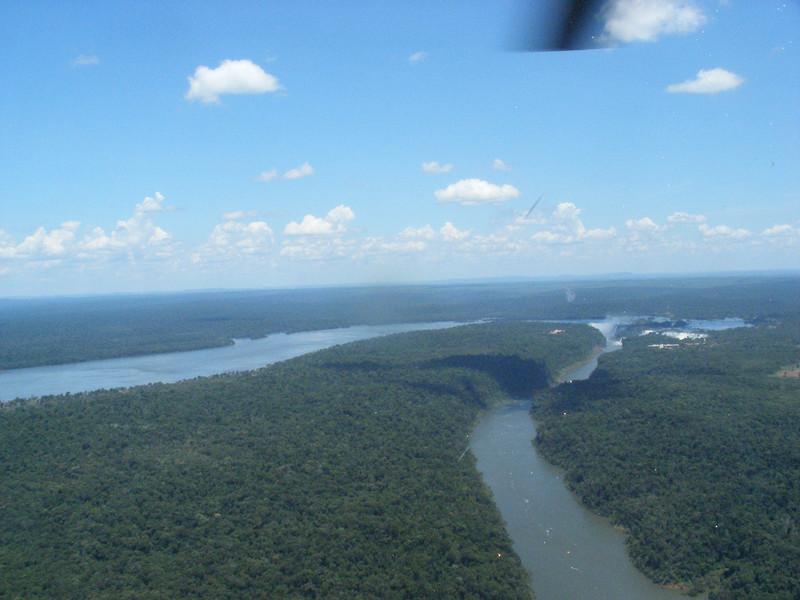 002 Iguacu Falls, Helicopter Tour