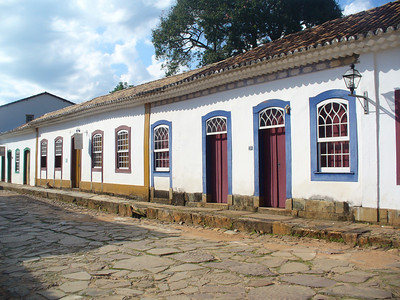 012 Tiradentes, Minas Gerais, Rua Direita, Houses beginning of the 18th  C