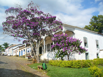 019 Tiradentes,Casa da Camara, Town Hall, Arcade supported by wooden columns